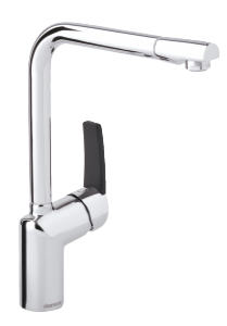 Slate Kitchen Mixer (Chrome/Black)