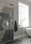 Complete Damixa Bell HS1 concealed shower built in solution
