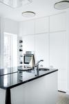 Danish designed Arc kitchen mixer