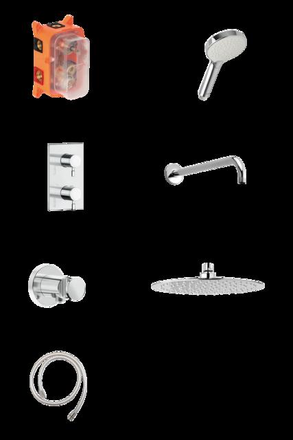 HS1 - Complete concealed shower system