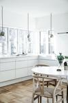 Miljø billede af Clover Green vandhane i dansk design