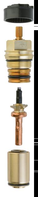 Binnenwerk thermostatisch oud model
