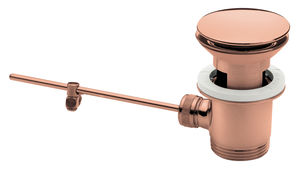 Badeværelsestilbehør Komplet bundventil (Poleret kobber PVD)
