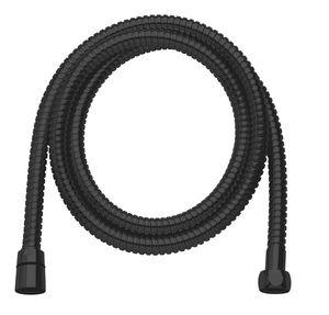 Akcesoria prysznicowe Wąż prysznicowy metalowy 1500 mm (Matowa czerń )