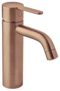 Silhouet Basin Mixer - Medium (Brushed Copper PVD)