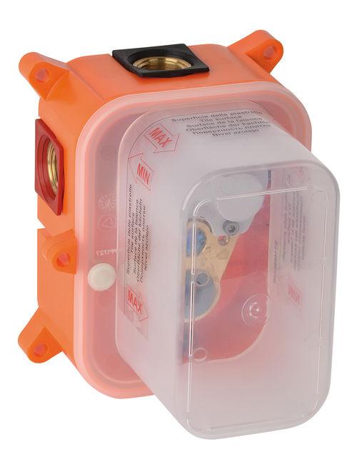 Skrzynka podtynkowa baterii natryskowej