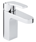Damixa Slate basin mixer with pop up waste in chrome