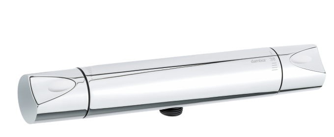 Dansk designet termostatarmtur til bruser krom