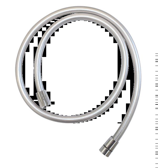 Wąż prysznicowy gładki 1250 mm